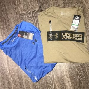 BUNDLE- NWT UNDERARMOUR T-SHIRT